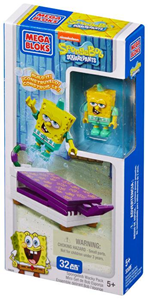 Giocattolo Mega Bloks. Spongebob. Wacky Pack Mega Bloks 1