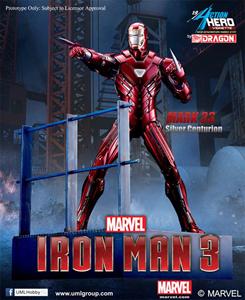 Giocattolo Action Hero Vignette. Iron Man 3. Mark 33 Silver Centurion Armor (DR38123) Dragon 1