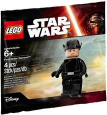 Giocattolo LEGO Star Wars (5004406). First Order General Minifigure Polybag Lego