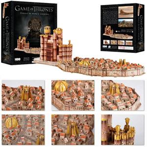 Giocattolo Puzzle 3D Trono di Spade. Kings Landing 4D Cityscape 1