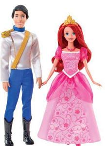 Giocattolo Ariel & Eric giorno romantico Mattel 1