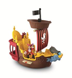 Giocattolo La nave dei pirati Jolly Roger Fisher Price 5