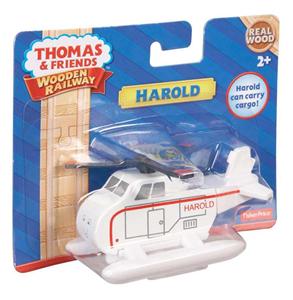 Giocattolo Mattel Y4077. Thomas and Friends. Wooden Railway. Harold Mattel 1