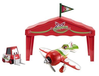 Giocattolo Planes. Tendone di El Chupacabra Mattel 1