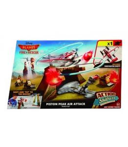 Giocattolo Planes. Playset Attacco dall'alto a Piston Peak Mattel 1