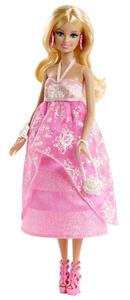 Giocattolo Barbie Gala in rosa Mattel 1