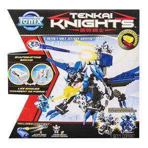 Giocattolo Tenkai Knights. 2 in 1 Animale Volante / Jet Ultra Tecnologico Spin Master 1