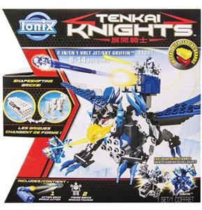 Giocattolo Tenkai 2 in 1 Jet/Sky Griffin Spin Master 2