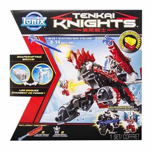 Giocattolo Tenkai Knights. 2 in 1 Animale Corazzato / Carro Armato Spin Master 1