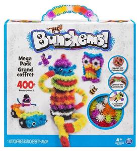 Giocattolo Bunchems. Kit Mega. Confezione 370 Bunchems e 36 Accessori Spin Master 1