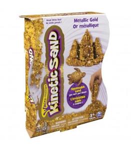 Giocattolo Kinetic Sand: Sabbia Modellabile Oro 454 g Spin Master 1