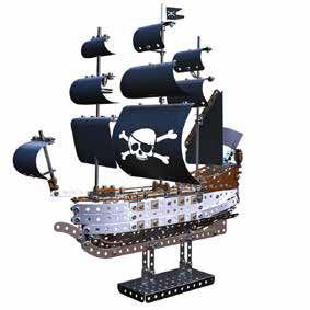 Giocattolo Meccano. Veliero Dei Pirati 630 Pz Meccano 1
