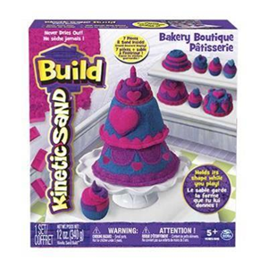 Giocattolo Kinetic Sand Build. Playset Pasticceria Spin Master 1