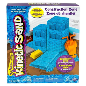 Giocattolo Kinetic Sand Construction. Kit Cantiere Spin Master 1