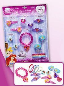 Giocattolo Principesse Disney. Set accessori per tutta la settimana Joy Toy 1