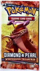 Giocattolo Pokemon Diamond & Pearl Mysterious Treasures Busta 10 Carte (En) Wizards of the Coast