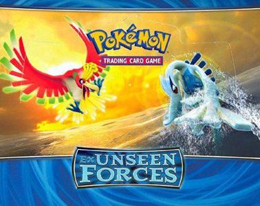 Giocattolo PK-EX Unseen Forces Mazzi (UK) 8 pz Game Freak 1