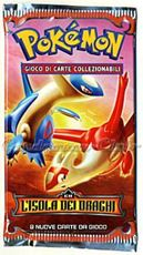 Giocattolo Pokemon Ex L'Isola Dei Draghi Busta 9 Carte (It) Wizards of the Coast