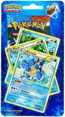 Giocattolo Pokemon Hs Battaglie Trionfali Busta 10 Carte In Blister + 3 Carte Promo Blastoise (It) Wizards of the Coast