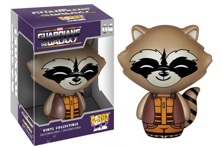 Giocattolo Action figure Rocket Raccoon. Guardians of the Galaxy Funko Dorbz Funko 1