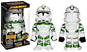 Giocattolo Funko Hikari. Star Wars: 442nd Siege Batlln Clone Trper (vfig) Funko 1