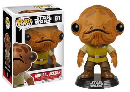 Giocattolo Action figure Admiral Ackbar. Star Wars Funko Pop! Funko 2