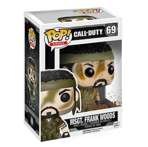 Giocattolo Action figure Msgt. Frank Woods. Call of Duty Funko Pop! Funko 2