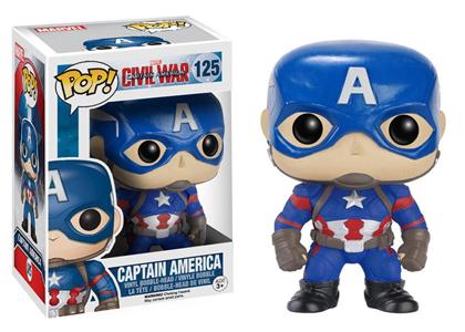 Giocattolo Action figure Captain America Civil War Edition. Marvel Funko Pop! Funko 2