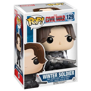 Giocattolo Action figure Winter Soldier Civil War Edition. Marvel Funko Pop! Funko 2