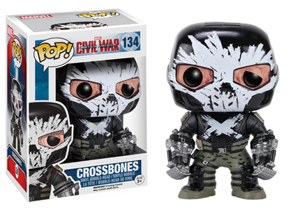 Giocattolo Action figure Crossbones Civil War Edition. Marvel Funko Pop! Funko 2