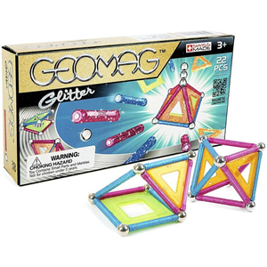 Giocattolo Geomag Panels Glitter 22 Pz. Geomag 1