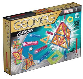 Giocattolo Geomag Panels Glitter. 68  pezzi Geomag 6