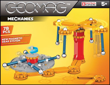 Giocattolo Geomag Mechanics 78 Pz. Geomag 1
