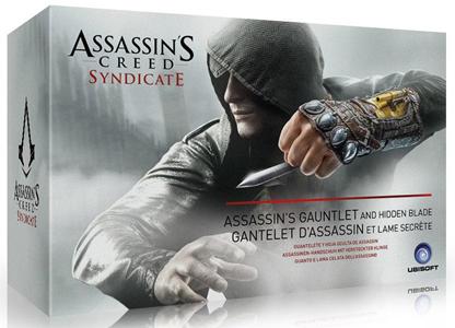 Giocattolo A. Creed Syndicate Guanto e Lama Celata Ubisoft 7