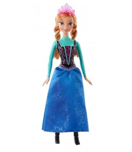 Giocattolo Disney Frozen. Anna scintillante Mattel 1