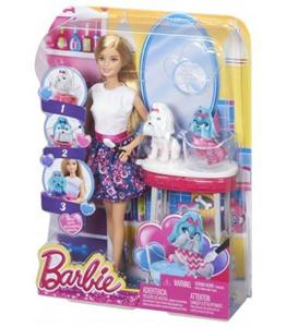 Giocattolo Barbie e Toilette Cuccioli Mattel 6