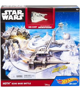 Giocattolo Hot Wheels. Playset Star Wars Hoth Hot Wheels 1