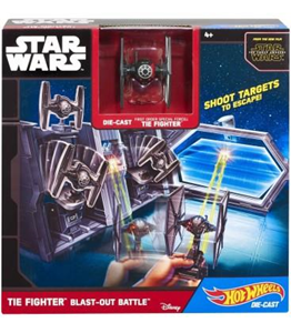 Giocattolo Hot Wheels. Star Wars. Navicella Spaziale Tie Fighter Hot Wheels 1