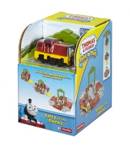Giocattolo Thomas and Friends. Take-N-Play. Stazione Cubo #03 Mattel 1