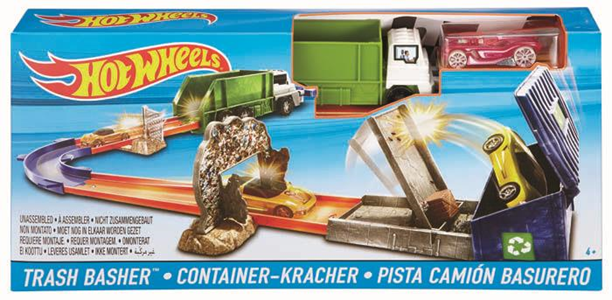 Giocattolo Hot Wheels. Pista Trash Basher Hot Wheels 1
