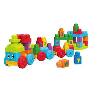 Giocattolo Mega Bloks. First Builders. Impara con il Treno Mega Bloks 1