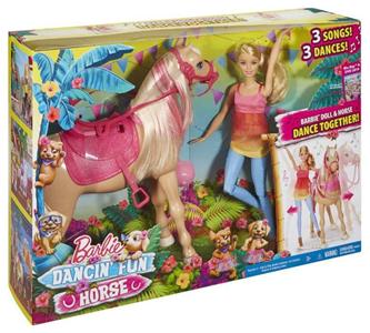 Giocattolo Barbie Balla con Tawny Mattel 1