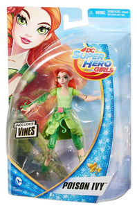 Giocattolo Mattel DMM38. Dc Super Hero Girls. Small Doll 15 Cm Poison Ivy Mattel 1