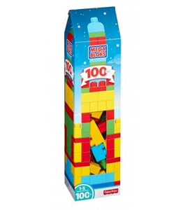 Giocattolo Mega Bloks DPY84. First Builders. La Mega Torre Mega Bloks 1