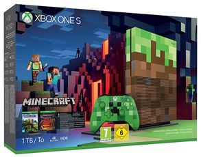 Videogiochi Console e accessori XBOX ONE S 1TB + Minecraft - Ltd.Ed.
