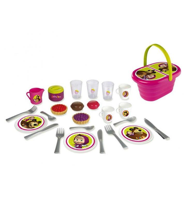 Masha e orso set picnic simba toys pittura for Masha giocattolo
