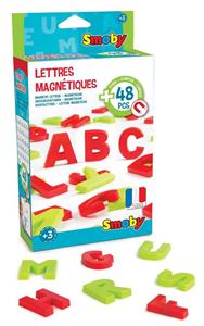 Giocattolo Lettere Magnetiche 48 Pz Smoby 1