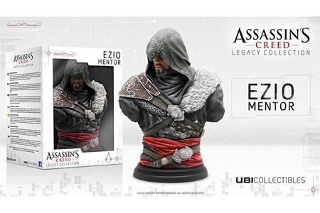 Giocattolo Assassin's Creed Busto Ezio Mentor Ubisoft 2