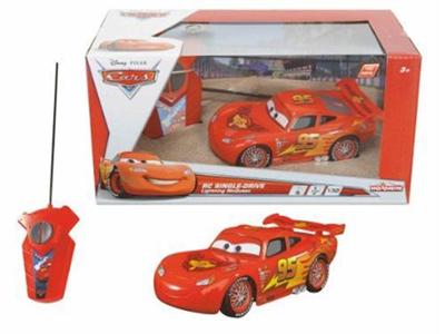 Giocattolo Auto Radiocomandata Saetta McQueen. Cars. 1 Canale Majorette 2