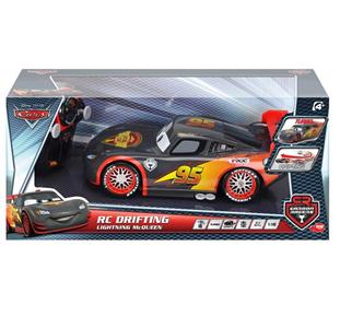 Giocattolo Majorette. Cars. Carbon Racers. Saetta McQueen 1:16 con Radiocomando Majorette 2